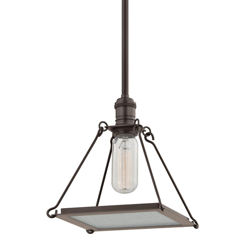 Hudson Valley Lighting 3521-OB Thorndike 1 Light Pendant in Old Bronze