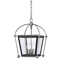 Hudson Valley Lighting 3612-PN Hollis 4 Light Pendant in Polished Nickel