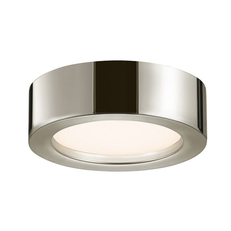 "Sonneman 3723.35 Puck Slim LED 8"" LED Surface Mount in Polished Nickel"