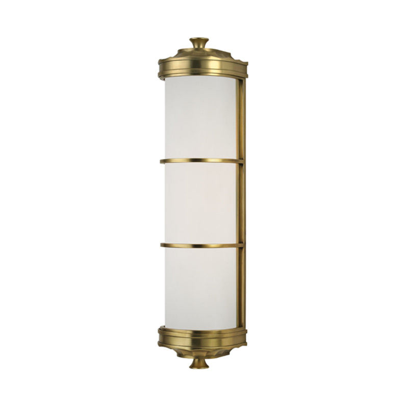 Hudson Valley Lighting 3832-AGB Albany 2 Light Wall Sconce in Aged Brass