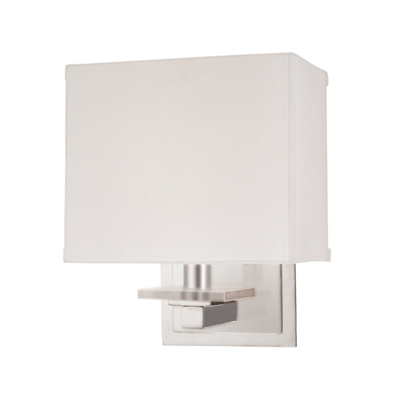 Hudson Valley Lighting 391-SN Montauk 1 Light Wall Sconce in Satin Nickel