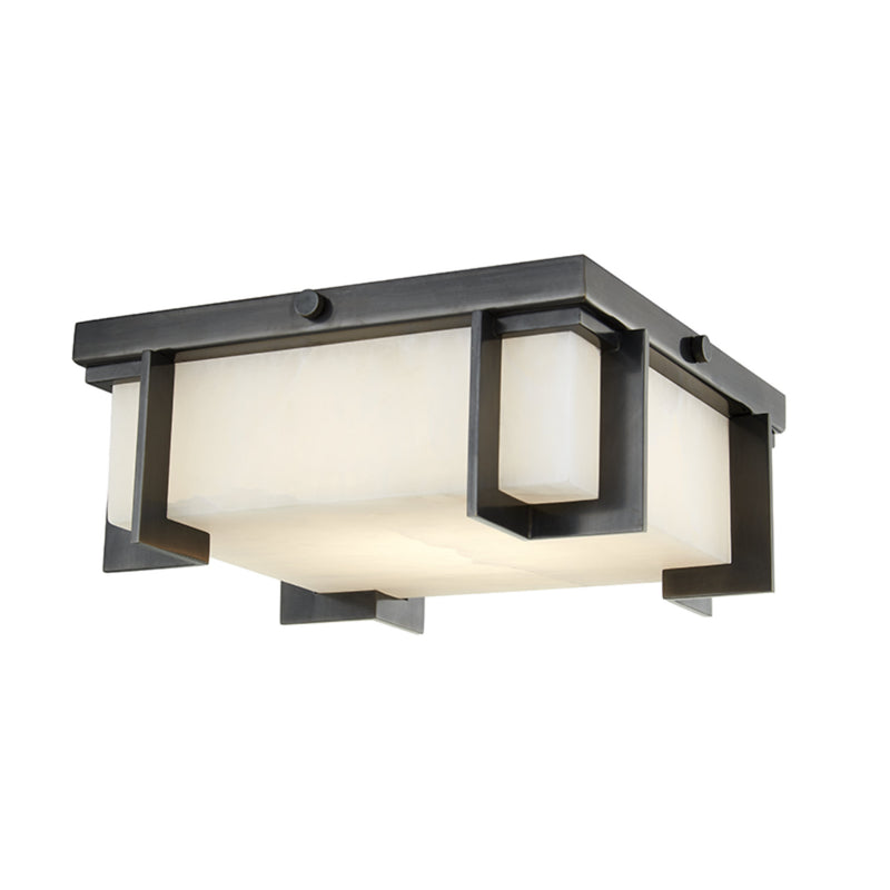 Hudson Valley Lighting 3910-OB Delmar Led Small Flush Mount in Old Bronze