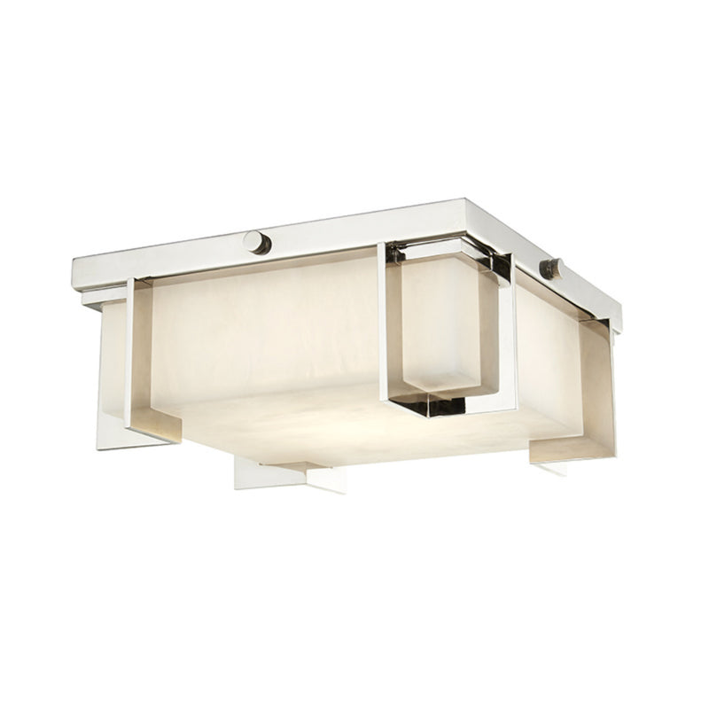 Hudson Valley Lighting 3910-PN Delmar Led Small Flush Mount in Polished Nickel