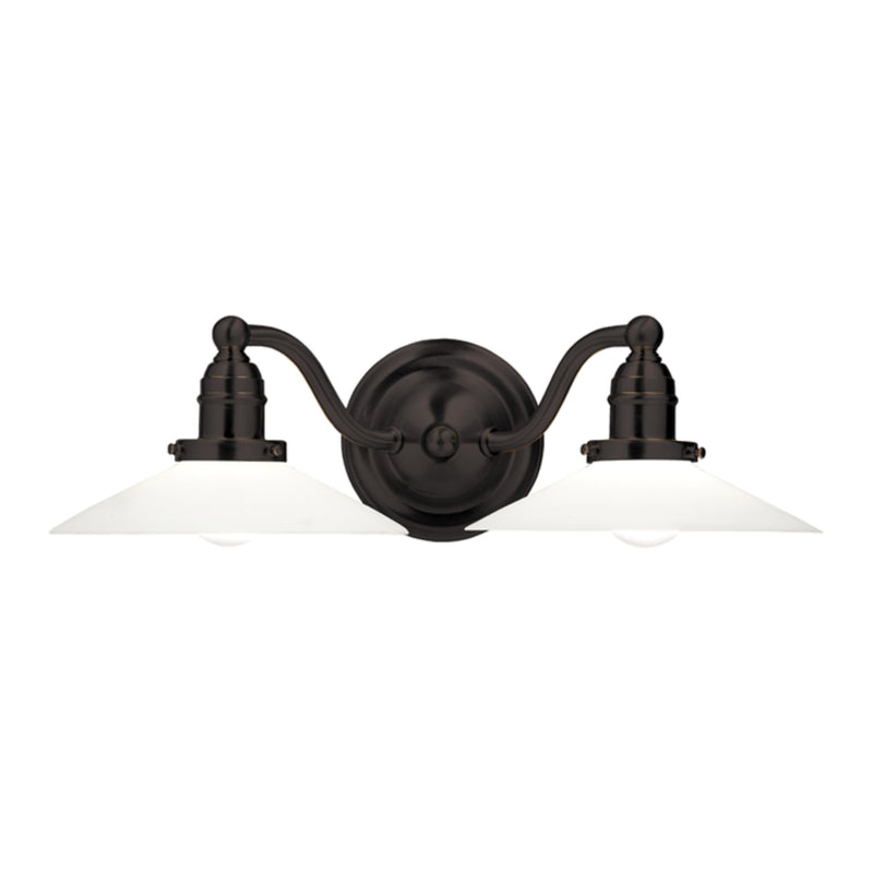 Hudson Valley Lighting 3912-OB Hadley 2 Light Bath Bracket in Old Bronze