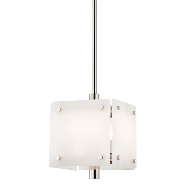 Hudson Valley Lighting 4012-PN Paladino 4 Light Pendant in Polished Nickel