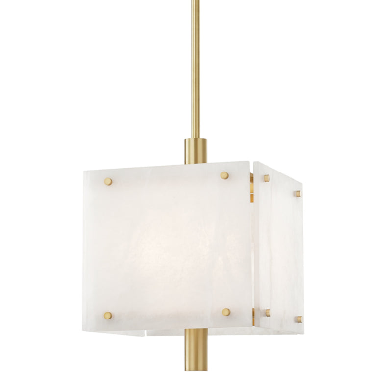 Hudson Valley Lighting 4018-AGB Paladino 4 Light Pendant in Aged Brass