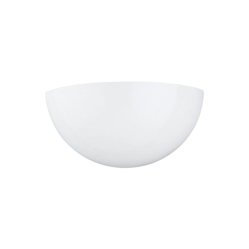 Generation Lighting 4138-15 Sea Gull Edla 1 Light Wall / Bath Light in White