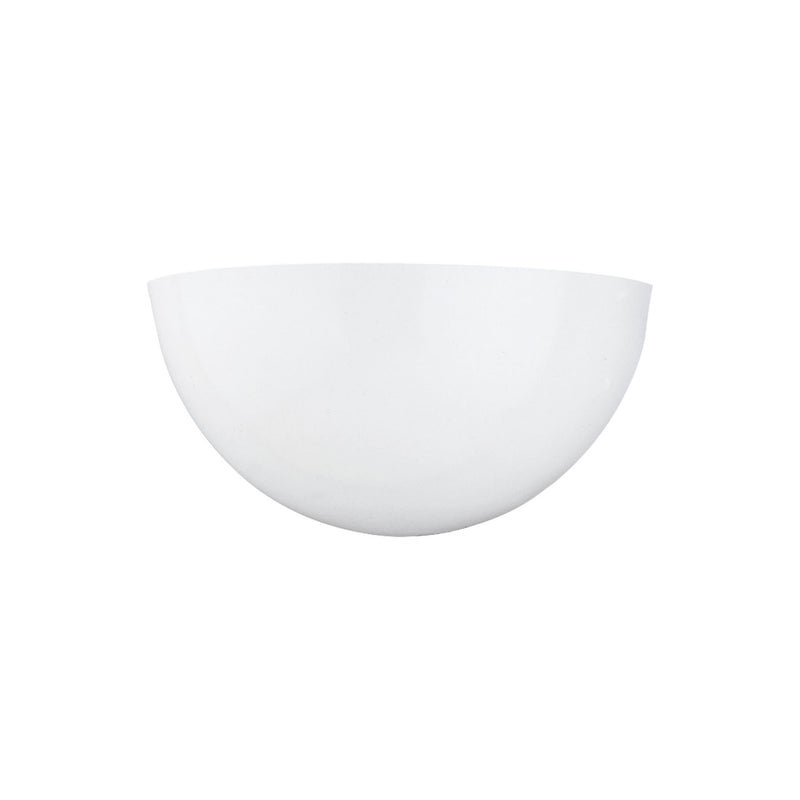 Generation Lighting 414893S-15 Sea Gull Neva 1 Light 3000K LED Wall / Bath Light in White