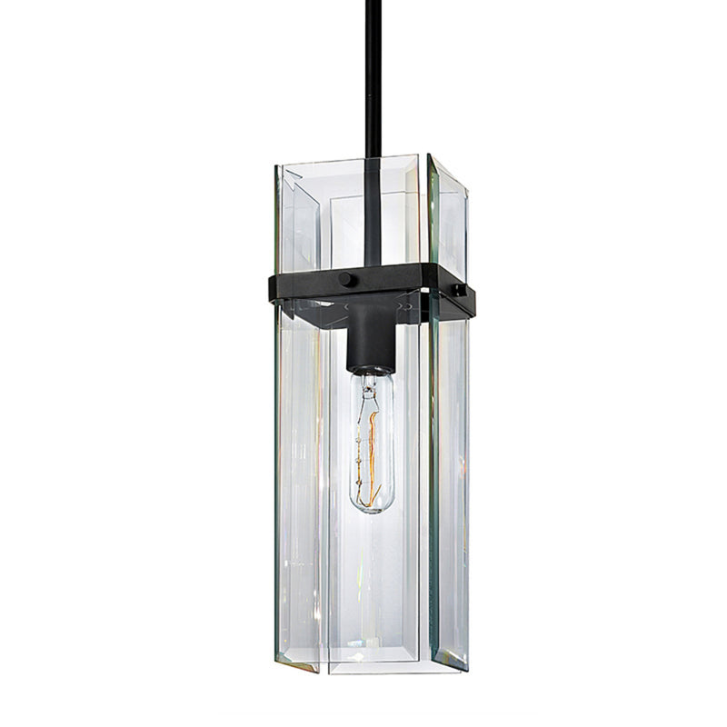 Sonneman 4281.25 Mercer Street Pendant in Satin Black