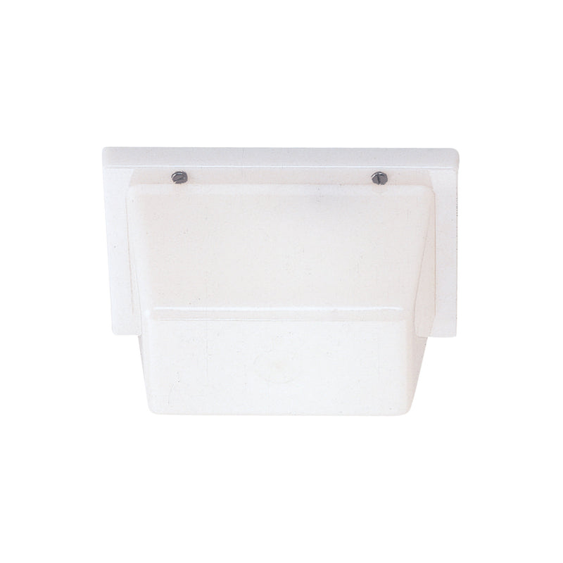 Generation Lighting 4325-68 Sea Gull Ceiling / Wall Mount 1 Light Outdoor Light in White Plastic