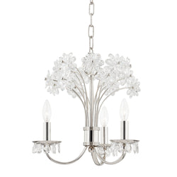 Hudson Valley Lighting 4419-PN Beaumont 3 Light Chandelier in Polished Nickel