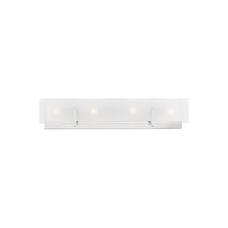 Generation Lighting 4430804-05 Sea Gull Syll 4 Light Wall / Bath Light in Chrome
