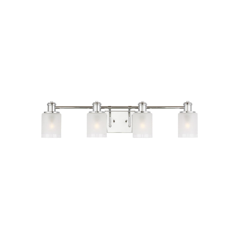 Generation Lighting 4439804-05 Sea Gull Norwood 4 Light Wall / Bath Light in Chrome