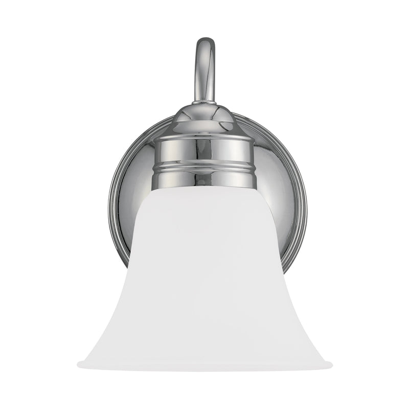 Generation Lighting 44850-05 Sea Gull Gladstone 1 Light Wall / Bath Light in Chrome