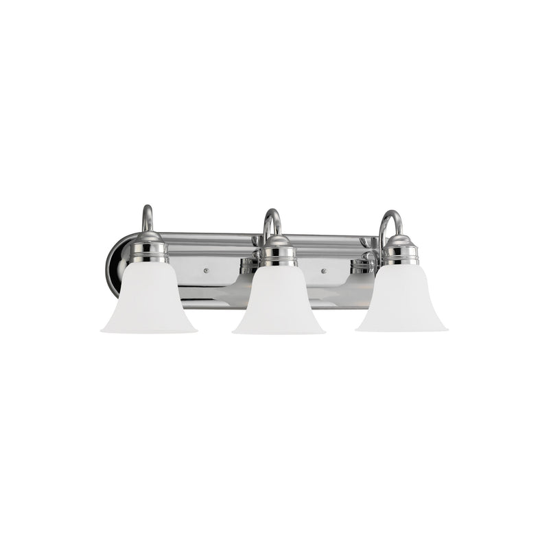 Generation Lighting 44852-05 Sea Gull Gladstone 3 Light Wall / Bath Light in Chrome