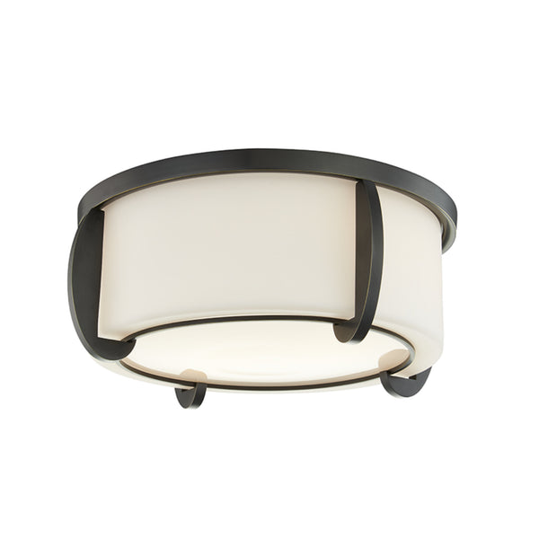 Hudson Valley Lighting 4613-OB Talon 2 Light Small Flush Mount in Old Bronze
