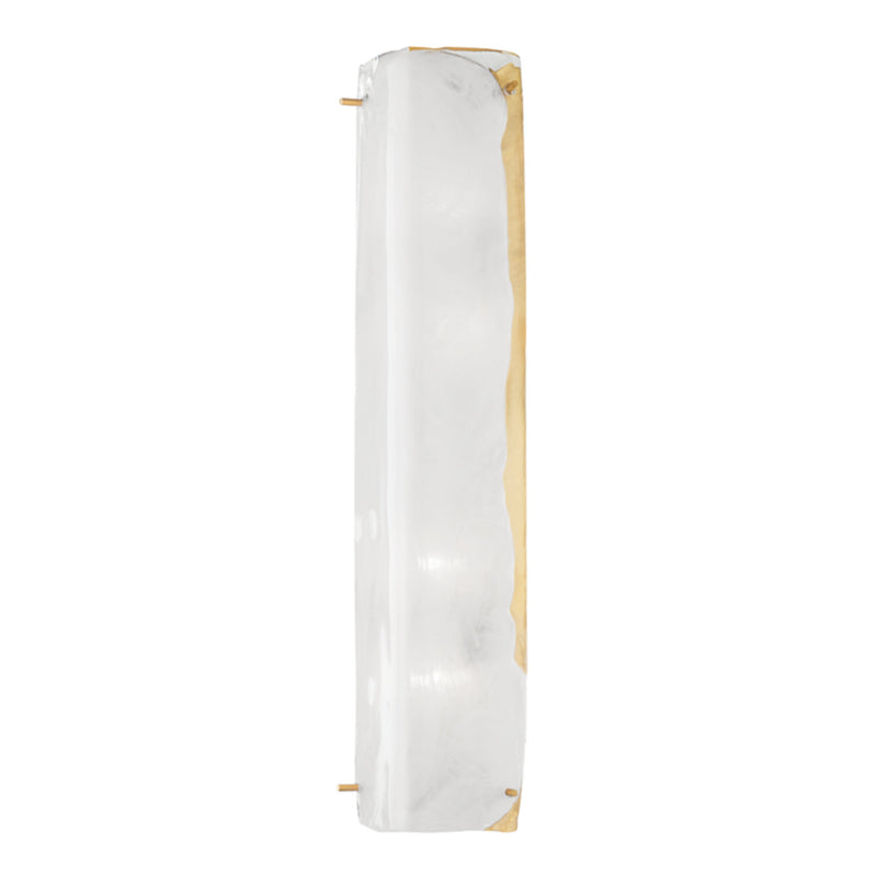 Hudson Valley Lighting 4726-AGB Hines 4 Light Wall Sconce in Aged Brass