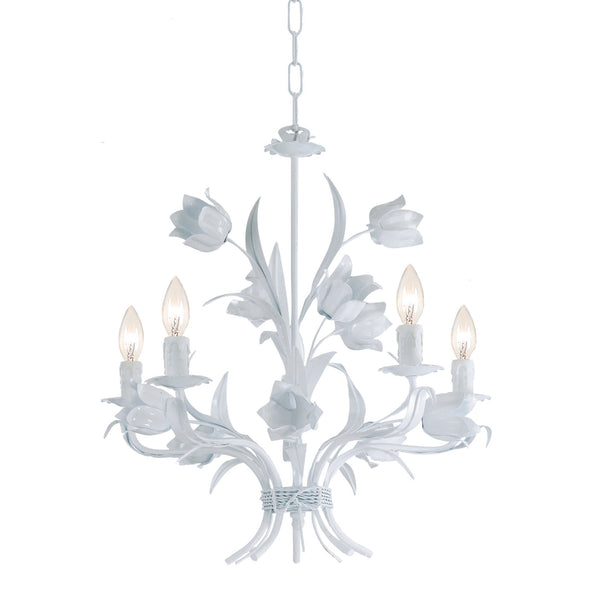 Crystorama 4815-WW Southport Chandelier in Wet White