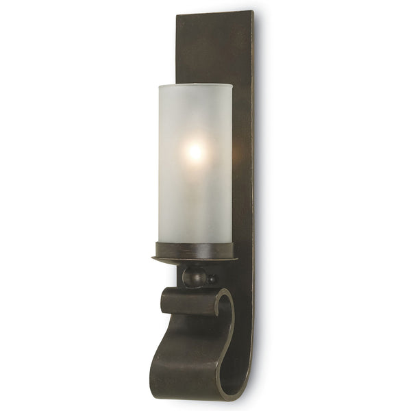 Currey and Company 5148 Avalon Bronze Wall Sconce in Bronze Gold