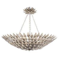 Crystorama 517-SA_CEILING Broche Ceiling Mount in Antique Silver