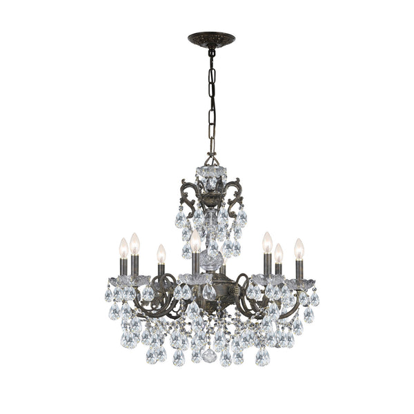 Crystorama 5198-EB-CL-I Legacy Chandelier in English Bronze