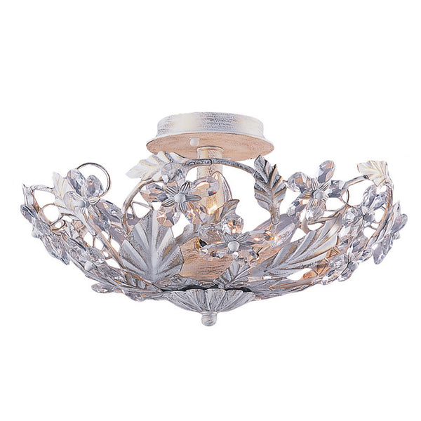 Crystorama 5316-AW Paris Market Ceiling Mount in Antique White