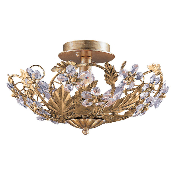 Crystorama 5316-GL Paris Market Ceiling Mount in Gold Leaf