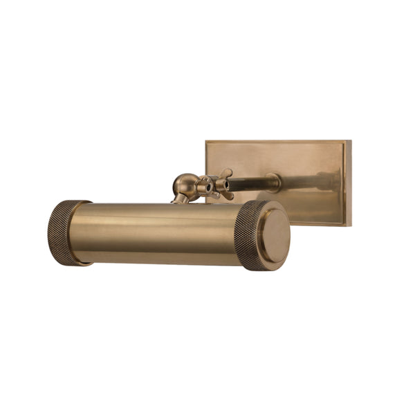 Hudson Valley Lighting 5808-AGB Ridgewood 1 Light Picture Light in Aged Brass