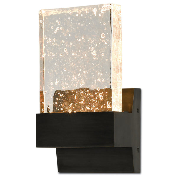 Currey and Company 5900-0018 Penzance Wall Sconce in Oil Rubbed Bronze
