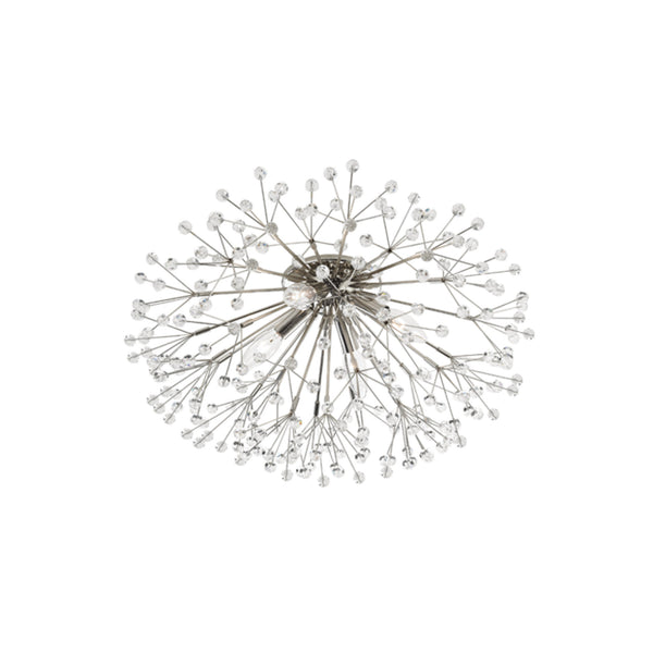 Hudson Valley Lighting 6000-PN Dunkirk 4 Light Flush Mount in Polished Nickel