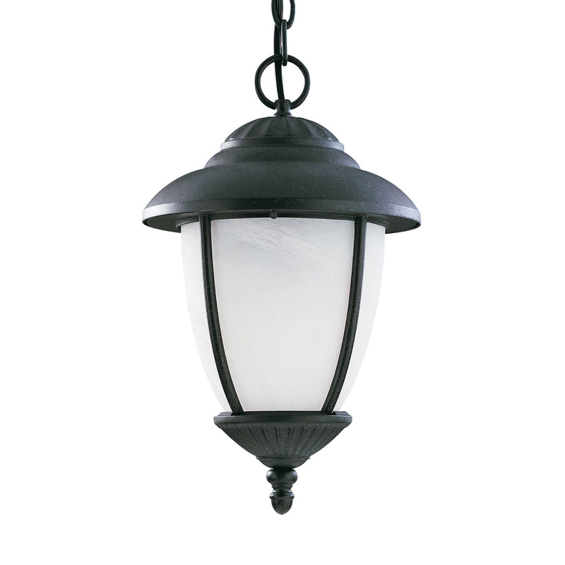 Generation Lighting 60048-185 Sea Gull Yorktown 1 Light Outdoor Light in Forged Iron