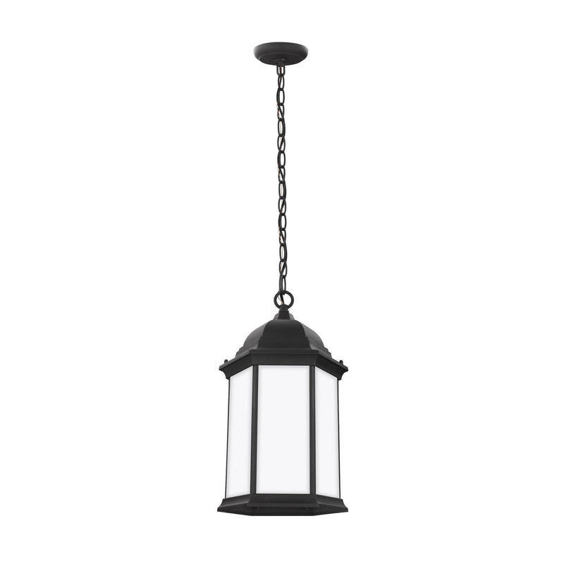 Generation Lighting 6238751-12 Sea Gull Sevier 1 Light Outdoor Light in Black