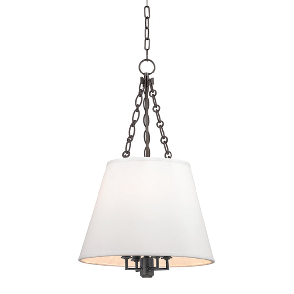 Hudson Valley Lighting 6415-OB Burdett 4 Light Pendant in Old Bronze