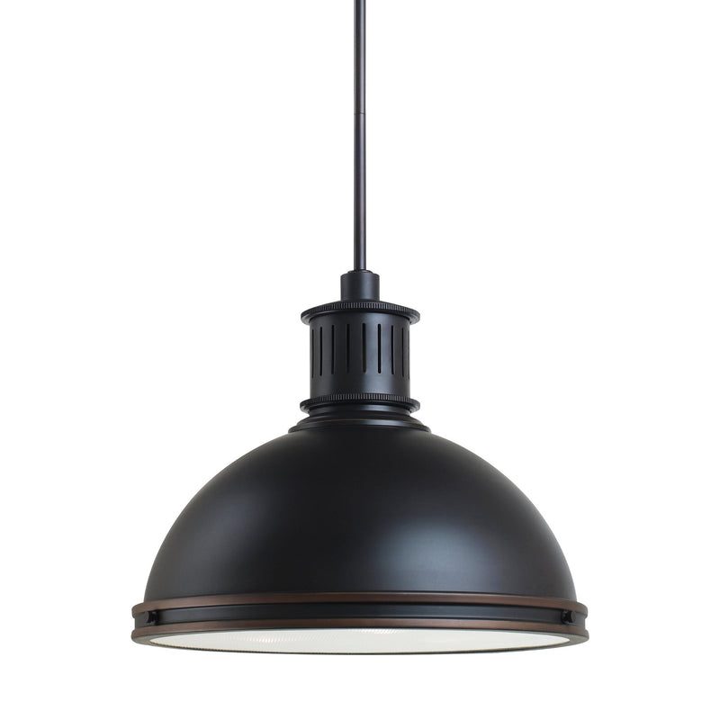 Generation Lighting 65087-715 Sea Gull Pratt Street Metal 3 Light Pendant in Autumn Bronze