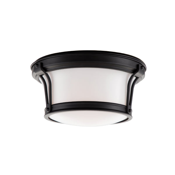 Hudson Valley Lighting 6510-OB Newport 2 Light Flush Mount in Old Bronze