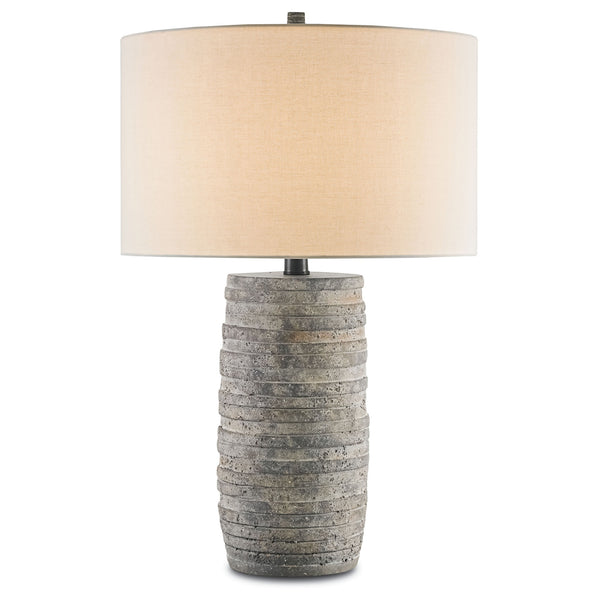 Currey and Company 6782 Innkeeper Table Lamp in Rustic