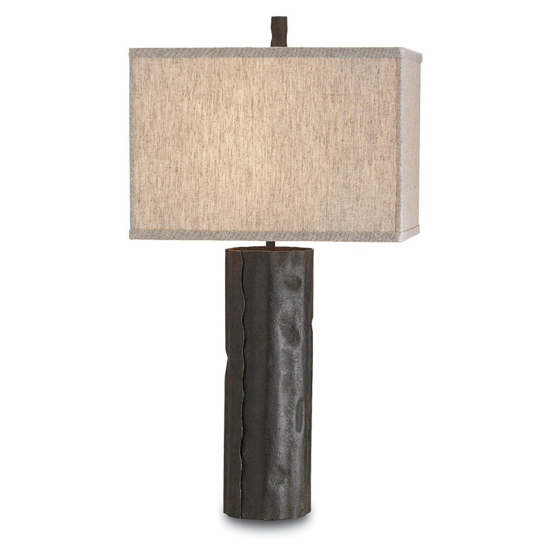 Currey and Company 6868 Caravan Table Lamp in Mole Black
