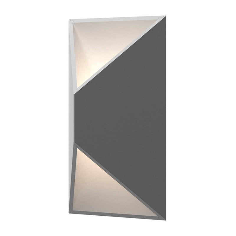 Sonneman 7100.74-WL Prisma LED Sconce in Textured Gray
