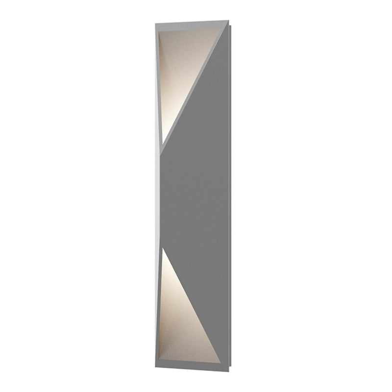 Sonneman 7102.74-WL Prisma Tall LED Sconce in Textured Gray