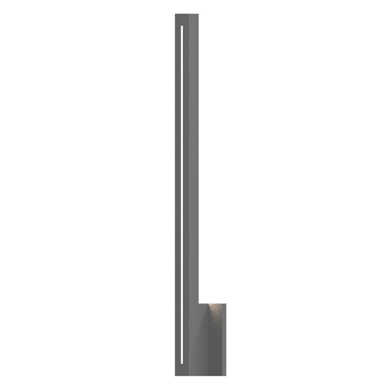 "Sonneman 7115.74-WL Stripe 30"" LED Sconce in Textured Gray"