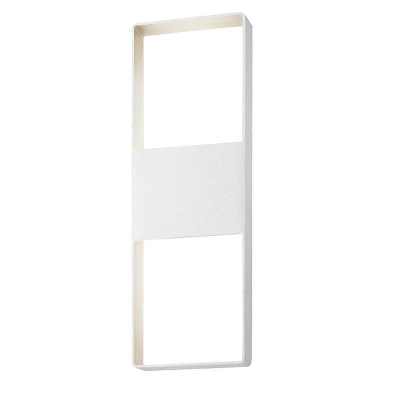 "Sonneman 7204.98-WL Light Frames 21"" Up/Down LED Sconce in Textured White"