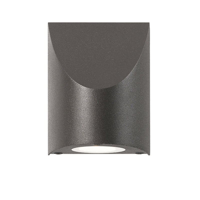 Sonneman 7222.72-WL Shear Small Sconce in Textured Bronze