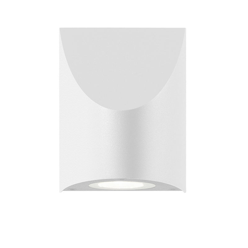 Sonneman 7222.98-WL Shear Small Sconce in Textured White