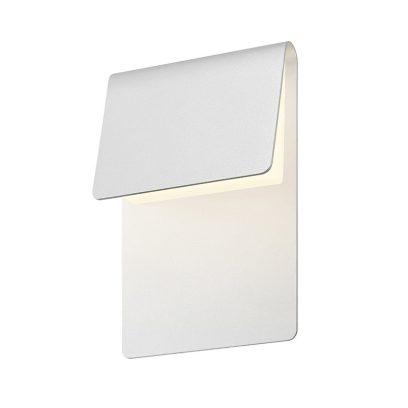 Sonneman 7230.98-WL Ply LED Sconce in Textured White