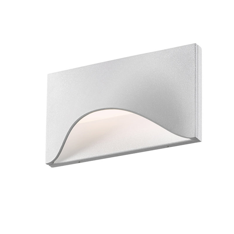 Sonneman 7236.98-WL Tides Low LED Sconce in Textured White