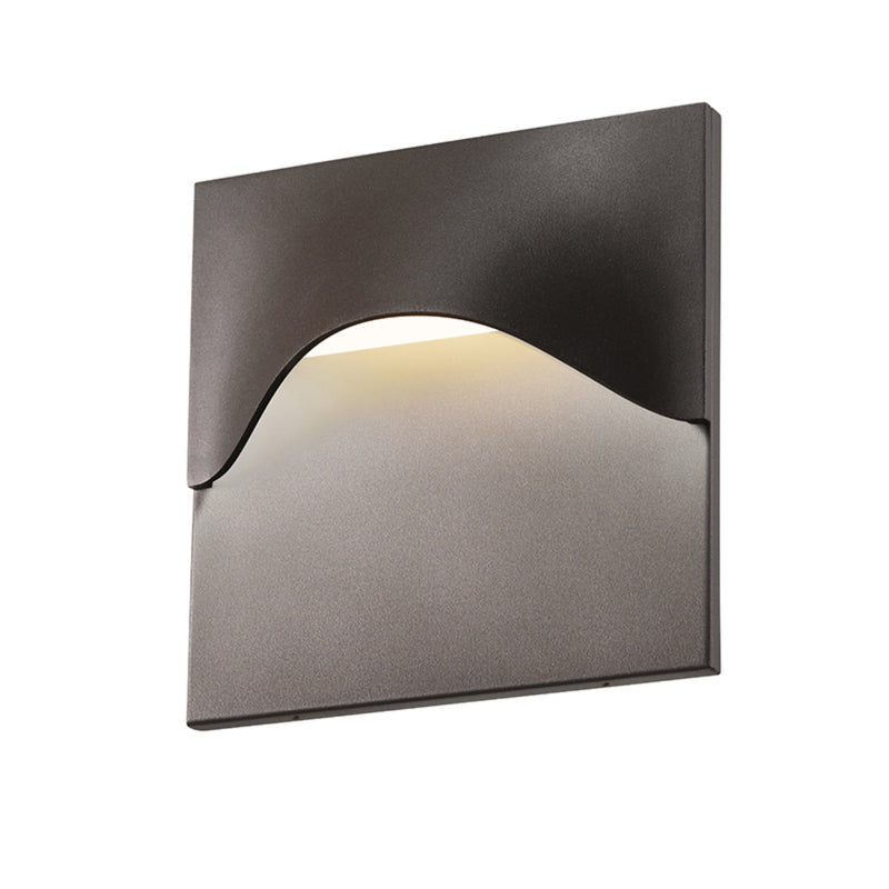 Sonneman 7237.72-WL Tides High LED Sconce in Textured Bronze