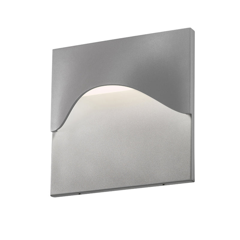 Sonneman 7237.74-WL Tides High LED Sconce in Textured Gray