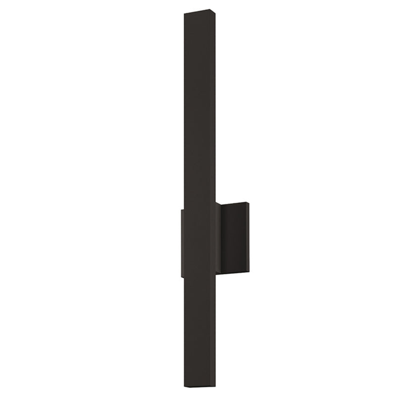 "Sonneman 7240.72-WL Sword 24"" LED Sconce in Textured Bronze"