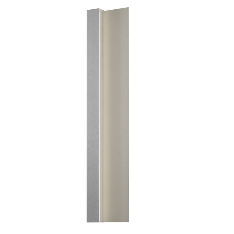 "Sonneman 7252.74-WL Radiance 30"" LED Sconce in Textured Gray"