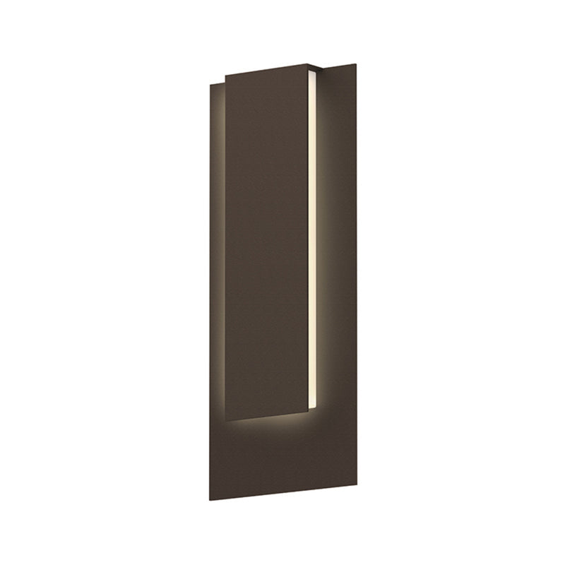 Sonneman 7265.72-WL Reveal Tall LED Sconce in Textured Bronze